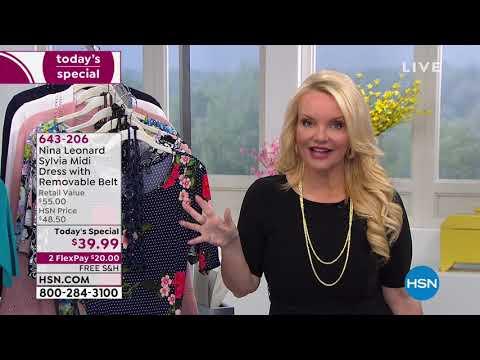 HSN | Nina Leonard Fashions . http://bit.ly/2xdThtg