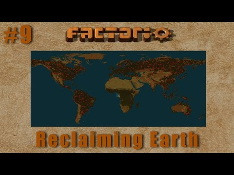 Factorio Multiplayer - Reclaiming Earth EP9 :: Beginning Bot Mining
