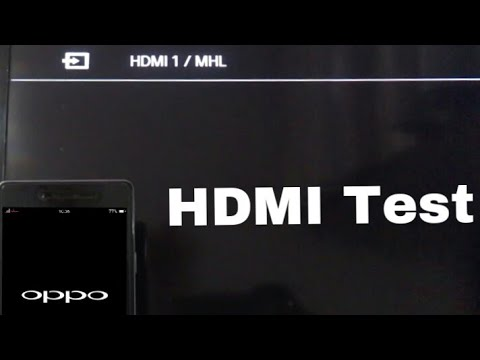 Oppo Neo 7 HDMI Support Test | Many Videos
