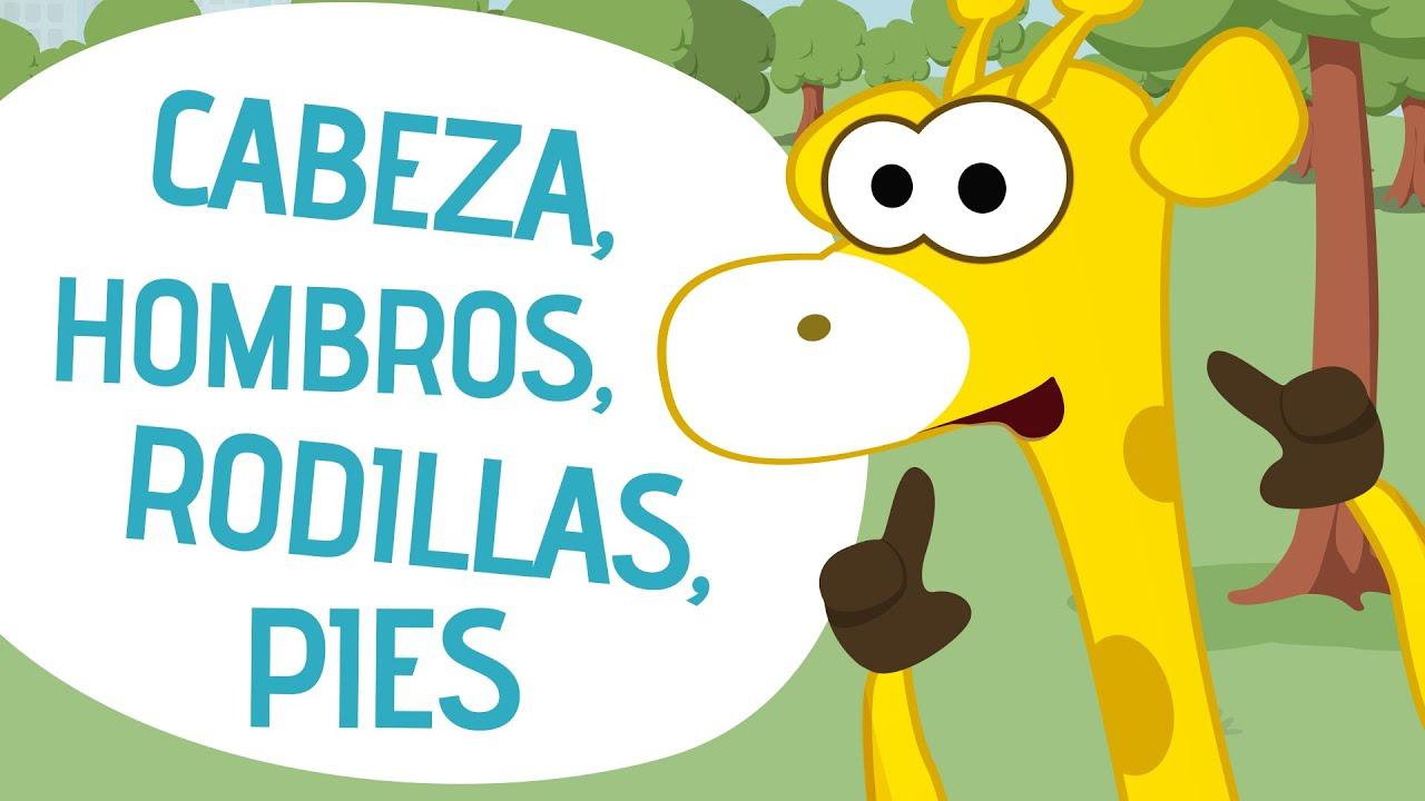 Cabeza Hombros Rodillas Pies Canciones Infantiles Toobys Youtube