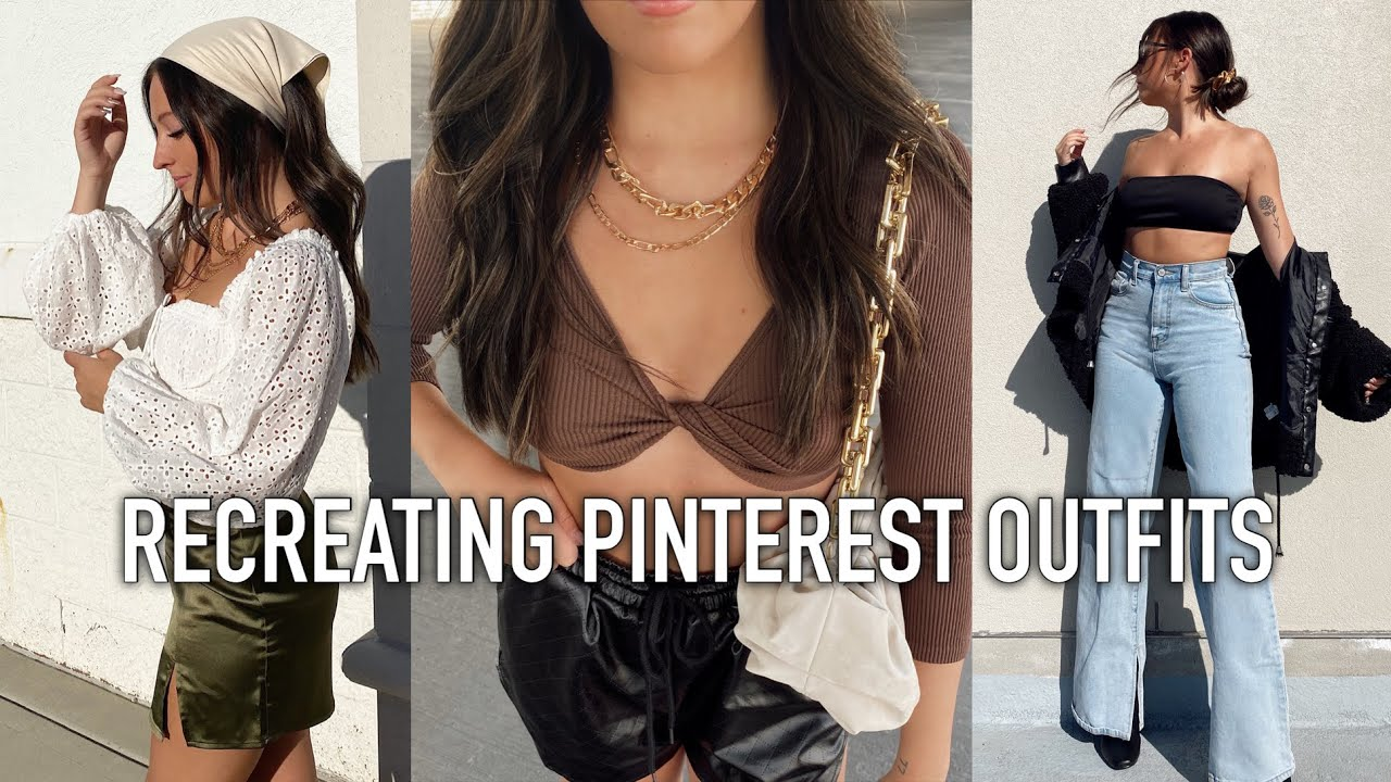 Recreating Spring Pinterest Outfits || Spring Outfit Ideas 2021 ft Poshmark, Trendy Outfits 2021