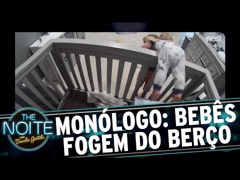 Monólogo: Bebês fazem operação de fuga do berço | The Noite (22/06/17)