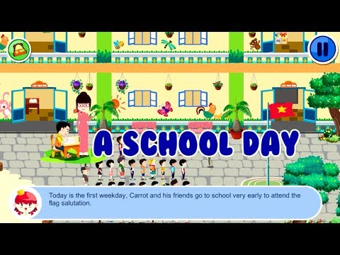 Safety for Kids | A School Day | Children Learn About Safety Knowledge