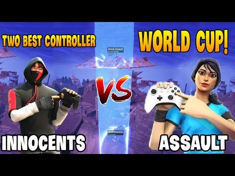 Best Controller Ghost Assault Destroyed Innocents in Fortnite World Cup!