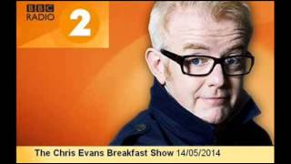 Tom Pellereau on Chris Evans Breakfast Show - 14 May 2014