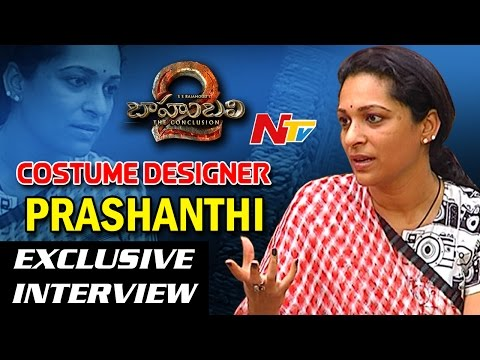 Baahubali 2 Costume Designer Prashanthi Exclusive Interview || Stylists of Baahubali || NTV