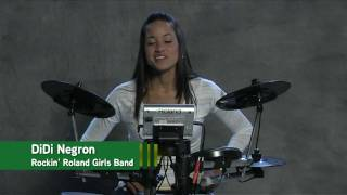 Roland HD-1 V-Drums® Lite Lessons - 8-Beat Rhythm