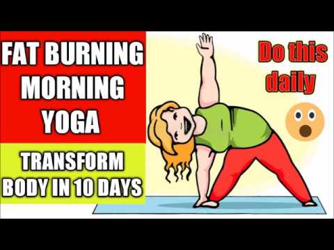 yoga for weight loss  full body fat burning morning
