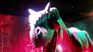 Шоу Динозавров на Лубянке