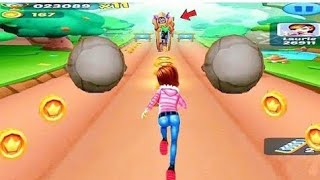 Subway Princess Runner game    Subway surfers    Run game in Android phone #shorts