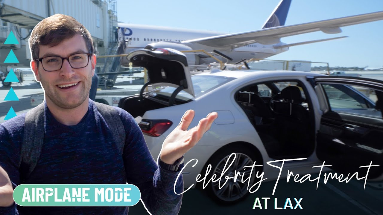Inside The Celebrity Private Suite At LAX