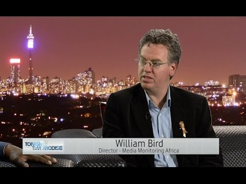 William Bird, Director at Media Monitoring Africa on SABC & Hlaudi Motsoeneng