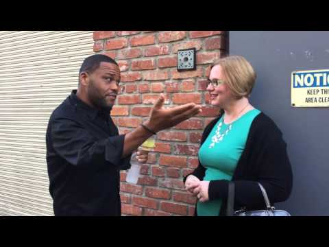 Meeting Anthony Anderson after Jeopardy! Tournament of Champions