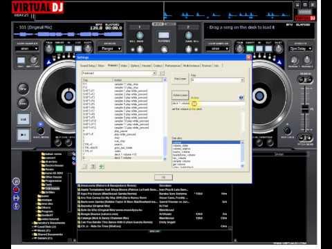 making shortcut keyboard at virtual dj 6