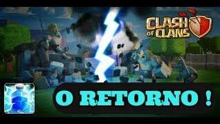 Clash Of Clans: O RETORNO DO FARM DE ELIXIR NEGRO COM RAIO !!!