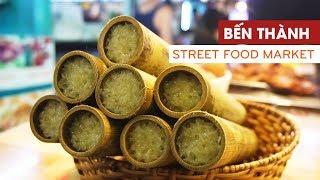 Với 200.000 đồng, ăn gì ở Bến Thành street food market || 360 ĐỘ NGON