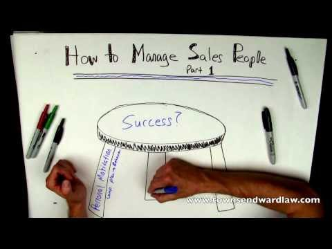 How to Manage Salespeople, Part 1 FREE DOWNLOAD