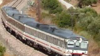 Algeciras to Ronda  by Train (Scenic Rail Journey) .wmv