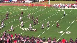 WPI intercepts fake field goal
