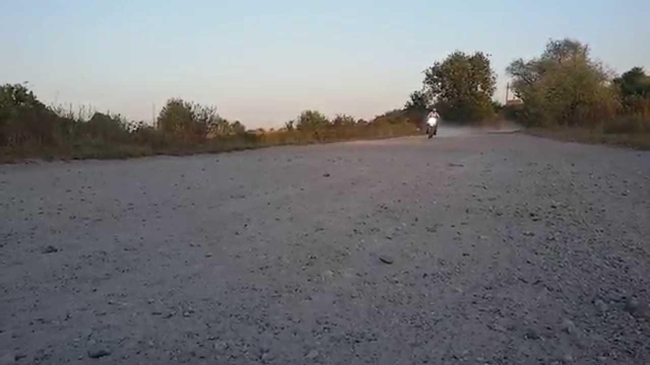 Yamaha Serow XT225 top speed - YouTube
