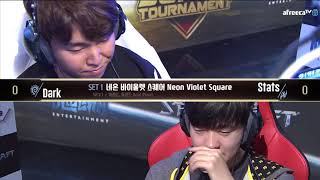 [2018 GSL SuperTournament I] Grand Finals Dark vs Stats