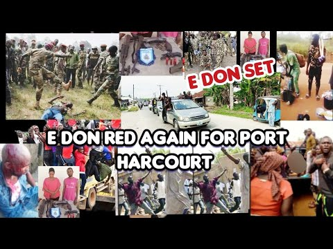 BREAKING!! IT'S GETTING TOUGHER IN PORT HARCOURT AS POLICE APPREHENDED A NOTORIOUS KIDNAPPER WITH