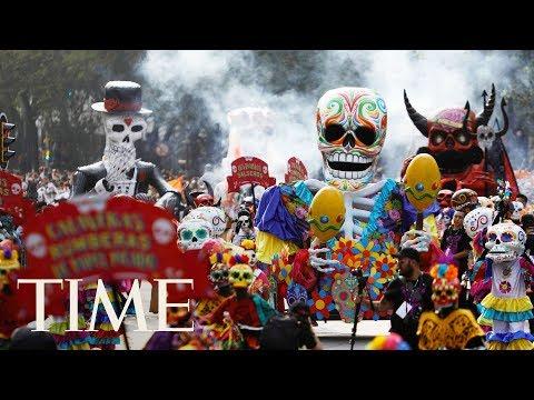 Live Footage As Mexico City Celebrates Día De Los Muertos (Day Of The Dead) | TIME