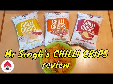 British crisps with an Indian twist