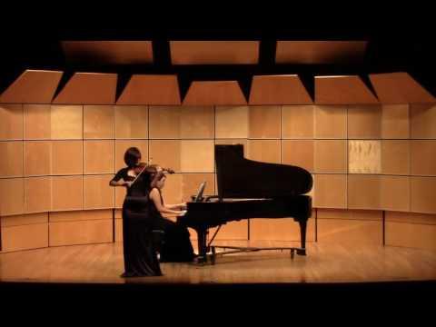 Rodion Shchedrin In The Style of Albeniz Olesya Rusina - violin Anastasiya Timofeeva - piano