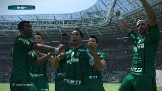 Palmeiras x Vasco da Gama Brasileirão Série A 2017 - 14/05/2017 Estádio Allianz Parque  PES 17