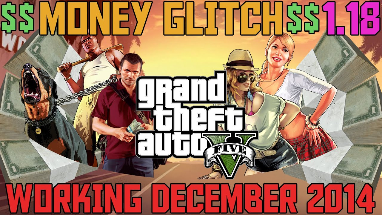 GTA 5 Online - Solo Money Glitch After Patch 118
