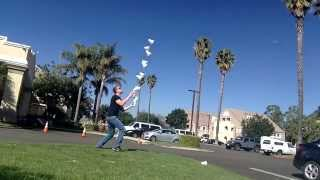 World Records Juggling of 12 shaker cups, by Niels Duinker