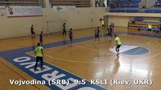 Handball. Vojvodina (SRB) - KSLI (Kiev, UKR). U16 boys. Final. TROPHY-2018. Smederevo.