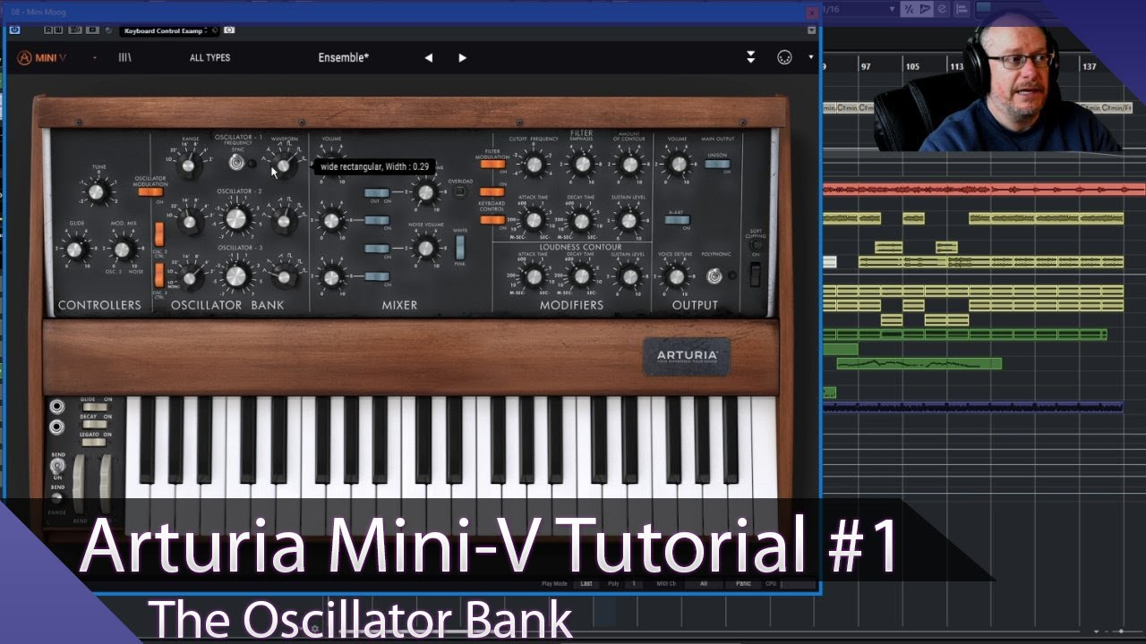 Download Arturia Mini-V VST Walkthrough Ep. 01 - The Oscillators