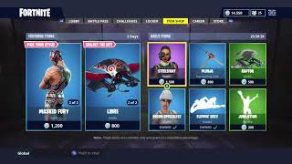*NEW* WRESTLER SKINS! | NEW DAILY ITEM SHOP TODAY! | FORTNITE BATTLE ROYALE (20/7/2018)