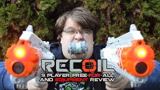 9 PLAYERS, ONE WINNER. || RECOIL Free-for-all FPS Gameplay (and Equipment Review)