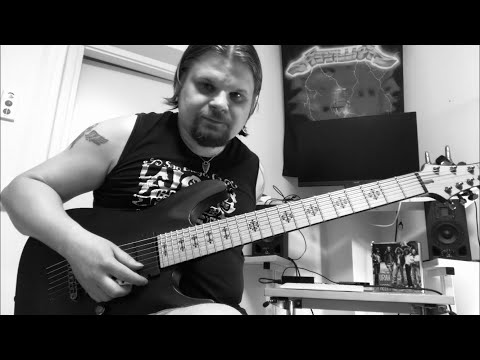 Fireproven - Waves of Extinction - Official guitar tutorial part 6. INTERLUDE MAINRIFF