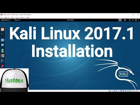 Kali Linux 2017.1 Installation + Guest Additions on Oracle VirtualBox [2017]