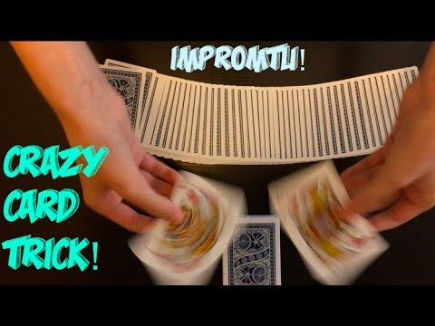 Crazy Transportation Intermediate/Advanced Card Trick Performance And Tutorial!