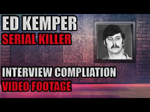 Ed Kemper Interviews | Chronological Order | From 1981 - 1991 | Video Footage