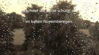 "Novemberregen (Guns 'N Roses Cover von ""November Rain"")"