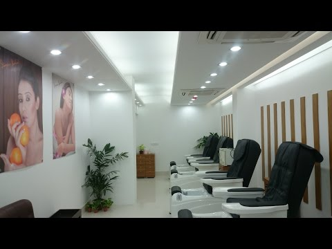 Beauty parlour/salon interior design-2017 - YouTube