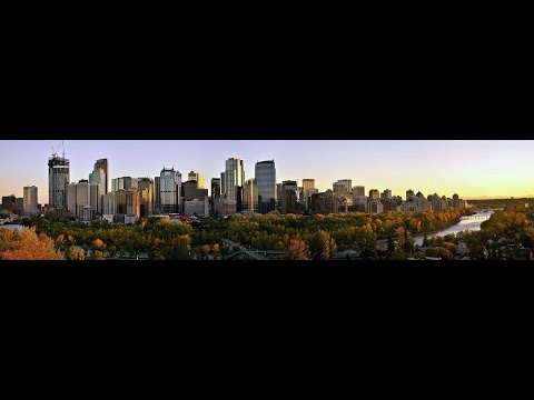 CALGARY ,ALBERTA  CANADA  STAMPEDE -  FAST HD WALKİNG TOUR -2016 HD