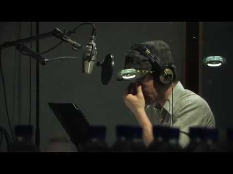 Jordan Pettle does ADR additional dialogue recording for Chris Donaldson's film, 2:14 PM