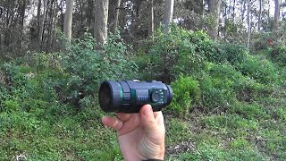 Quick cheeky review on the SIOnyx Aurora colour night vision camera from Night Vision Australia.