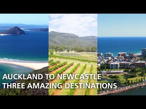 Auckland To Newcastle: One Short Flight, Three Amazing Destinations