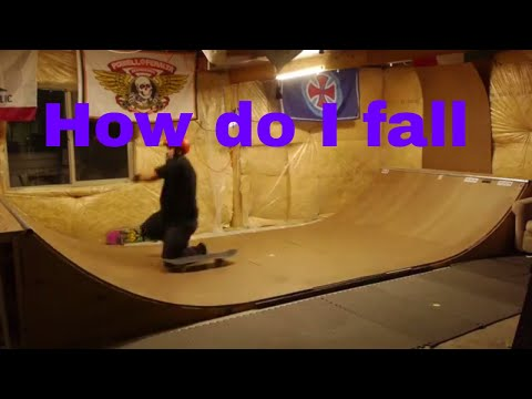 How do I fall from my skateboard - Protective gear - Knee pads, helmet, wrist guards. Skate safety