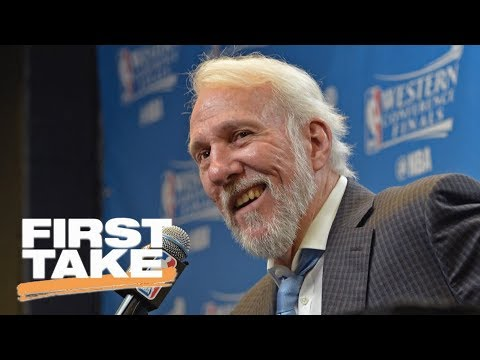 Gregg Popovich highly critical of President Trump in interview | First Take | ESPN