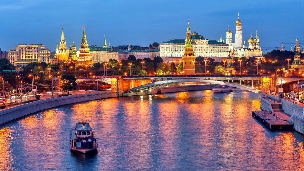 Москва- река - YouTube