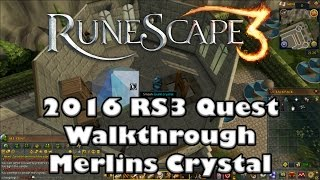 RS3 Quest Guide - Merlins Crystal - 2017(Up to Date!)